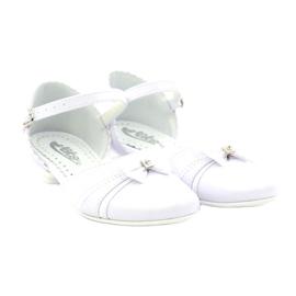 Courtesy ballerinas Communion Miko 702 white 4
