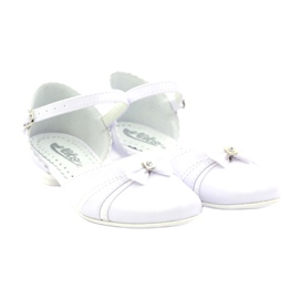 Courtesy ballerinas Communion Miko 702 white 4
