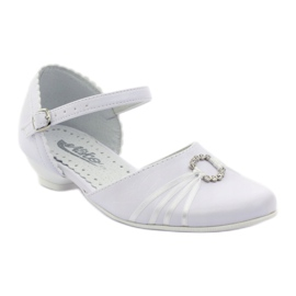 Courtesy ballerina shoes Miko 710 white 1