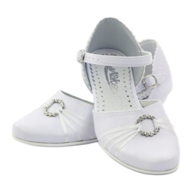 Courtesy ballerina shoes Miko 710 white 3