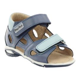 Boy's sandals, turnips Bartuś blue 1