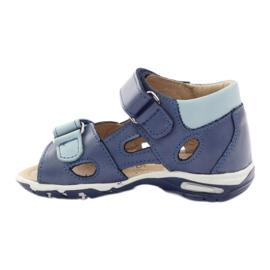 Boy's sandals, turnips Bartuś blue 2