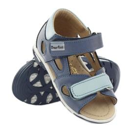 Boy's sandals, turnips Bartuś blue 3
