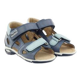 Boy's sandals, turnips Bartuś blue 4