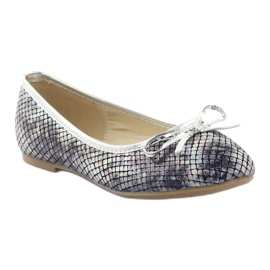 American Club Ballerinas girls' American C061 gray grey 1