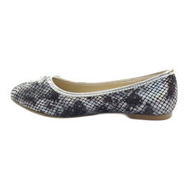 American Club Ballerinas girls' American C061 gray grey 2