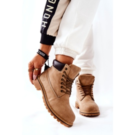 PH1 Women's Beige Crush Warm Boots brown 1