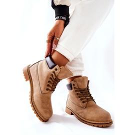 PH1 Women's Beige Crush Warm Boots brown 4