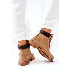 PH1 Women's Beige Crush Warm Boots brown 5