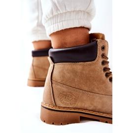 PH1 Women's Beige Crush Warm Boots brown 6