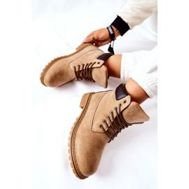 PH1 Women's Beige Crush Warm Boots brown 8