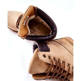 PH1 Women's Beige Crush Warm Boots brown 9