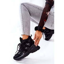 POTOCKI Sport Black Hesane Wedge Shoes 3