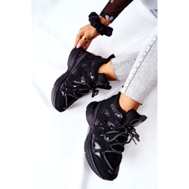 POTOCKI Sport Black Hesane Wedge Shoes 1