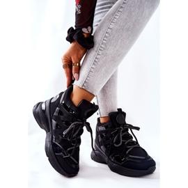POTOCKI Sport Black Hesane Wedge Shoes 5