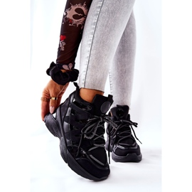 POTOCKI Sport Black Hesane Wedge Shoes 6