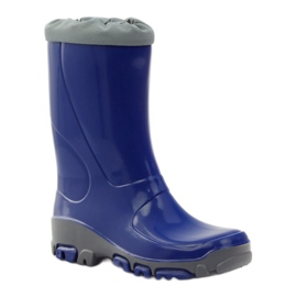 Ren But Galoshes with silver ions Ren. Cornflower boots blue grey 1