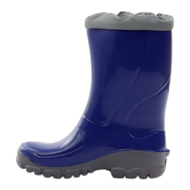 Ren But Galoshes with silver ions Ren. Cornflower boots blue grey 2