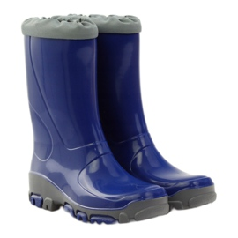 Ren But Galoshes with silver ions Ren. Cornflower boots blue grey 4