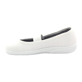 Girls' slippers Befado 274X013 white 2
