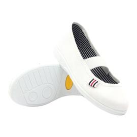 Girls' slippers Befado 274X013 white 3