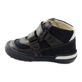 Preventive shoes Bartek 91756 new navy brown white 2