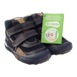 Preventive shoes Bartek 91756 new navy brown white 4