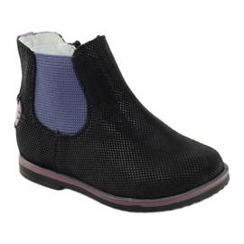 Boots Children's shoes Ren But 1479 black violet 1