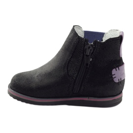 Boots Children's shoes Ren But 1479 black violet 2