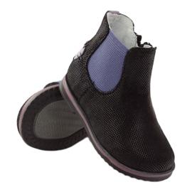 Boots Children's shoes Ren But 1479 black violet 3