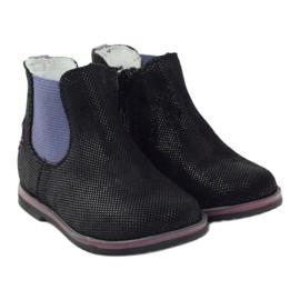 Boots Children's shoes Ren But 1479 black violet 4