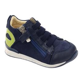 Boots slider Bartuś 181 navy blue green 1