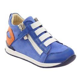 Boots slider Bartuś 181 blue orange white 1