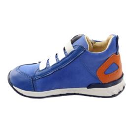 Boots slider Bartuś 181 blue orange white 2