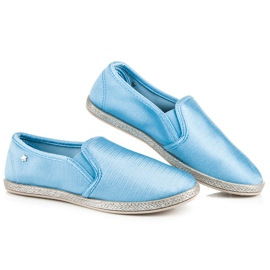 Balada Slip On Espadrilles blue 1