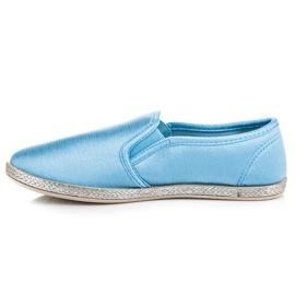 Balada Slip On Espadrilles blue 4