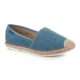 Vices Espadrilles with a pattern blue 2