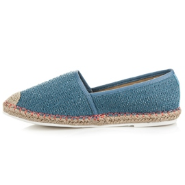 Vices Espadrilles with a pattern blue 3