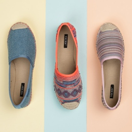 Vices Espadrilles with an ethnic pattern multicolored 5