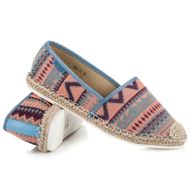 Vices Espadrilles with an ethnic pattern multicolored 4