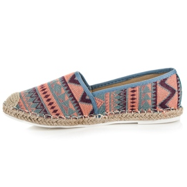 Vices Espadrilles with an ethnic pattern multicolored 3