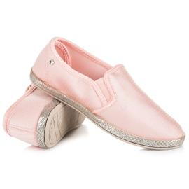 Balada Slip On Espadrilles pink 4
