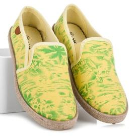 Vices Hawaii Espadrilles yellow 1