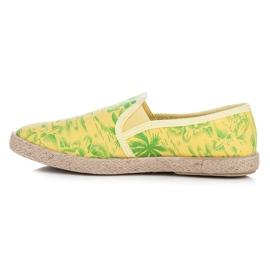 Vices Hawaii Espadrilles yellow 2