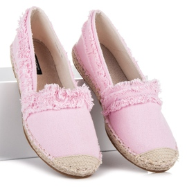 Vices Pink espadrilles with tassels 1