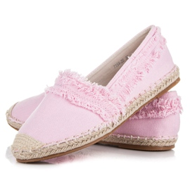 Vices Pink espadrilles with tassels 4