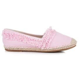 Vices Pink espadrilles with tassels 2