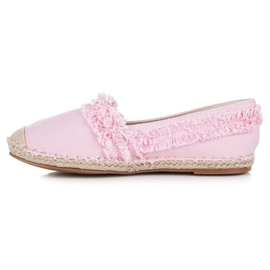 Vices Pink espadrilles with tassels 3