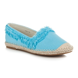 Vices Blue Espadrilles With Tassels 2