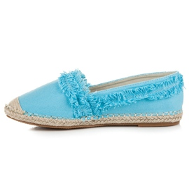 Vices Blue Espadrilles With Tassels 3